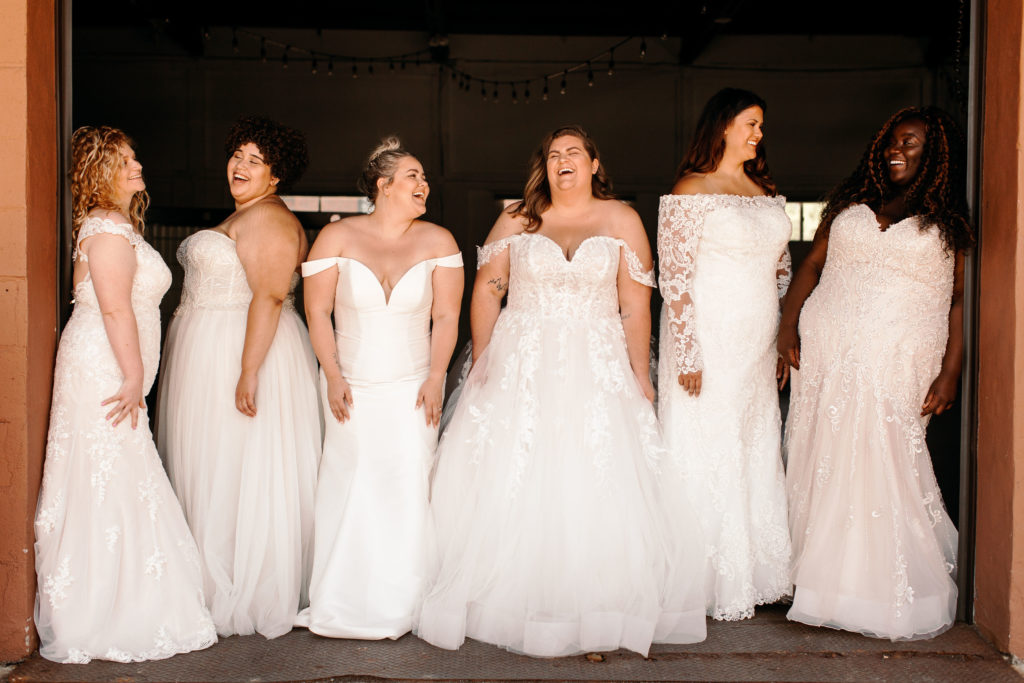 Luxe Bridal plus size style shoot